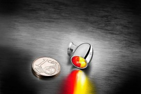 Atto 3-1 LED-Rück-/Bremslicht Blinker, chrom